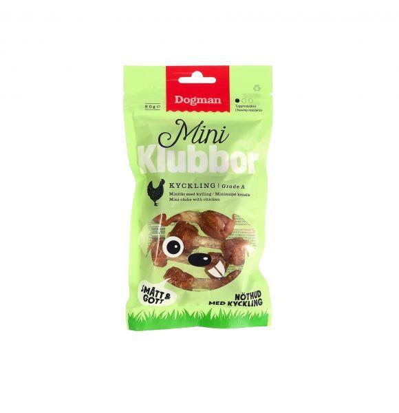 Dogman Mini klubbor m/kylling