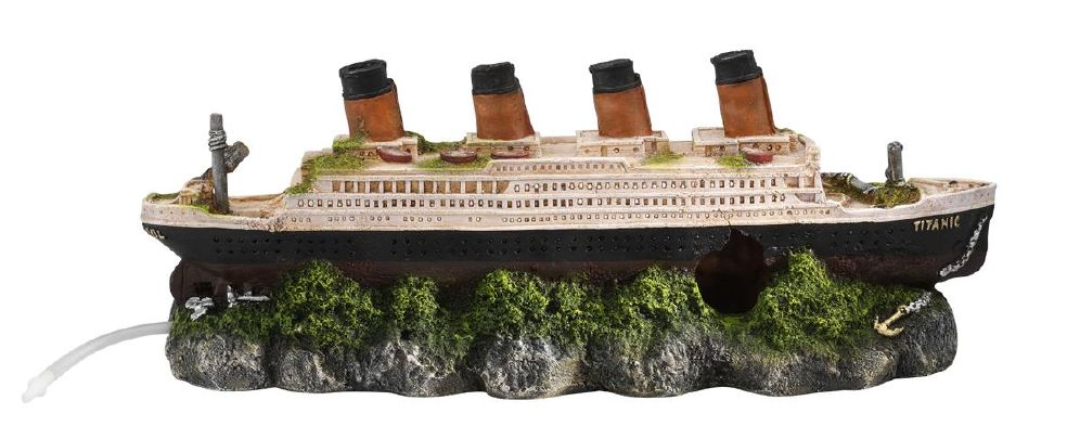 Ebi Akv. Pynt Titanic 39x44x14cm Til Luf