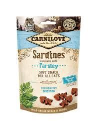 Carnilove soft snack sardines 50gr