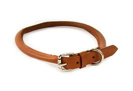 DD Collar Round Leather 35cmx5mm