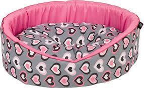 Cazo Foam bed heartbeat 50x46cm