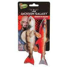 Jackson galaxy photo fish toy