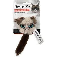 Grumpy Cat fluffy cat