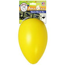 Jolly egg 20cm gul