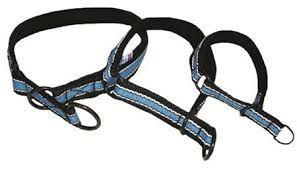 TP halvstrup 35-45cm blå