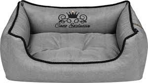 Cazo  soft bed royal line grey 65x50cm