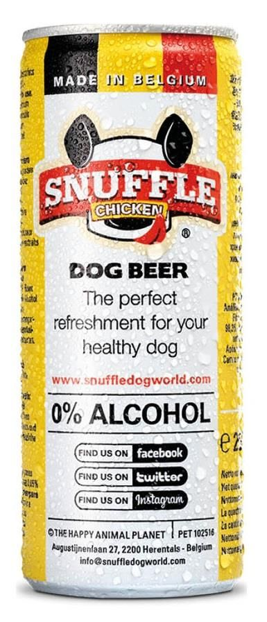 Snuffle Dog Beer chicken 25cl