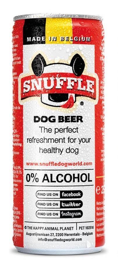 Snuffle Dog Beer beef 25cl