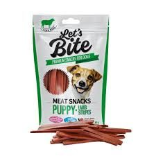 Lets Bite meat snacks puppy lamb 80gr