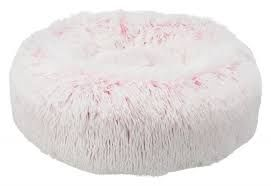 harvey fluffy hundeseng rosa 50cm