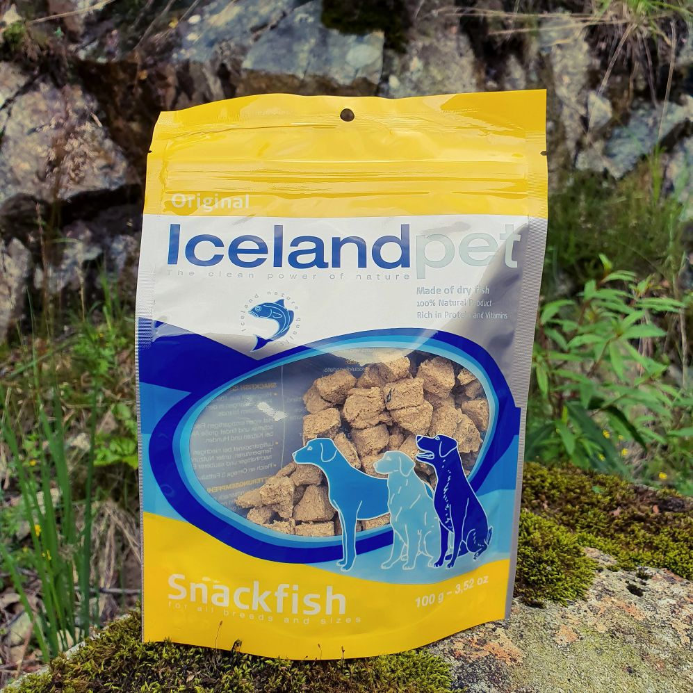 Icelandpet frysetørket snackfish 100gr