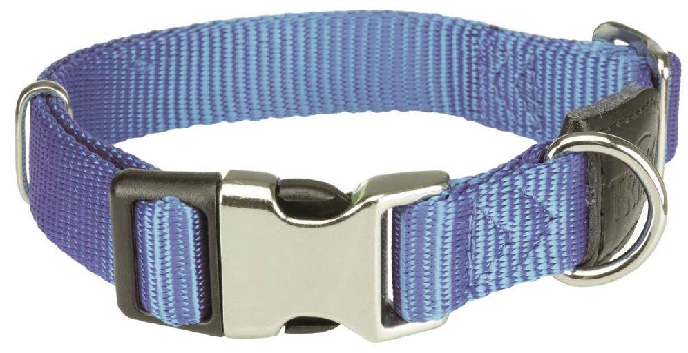 Halsbånd premium 34-52cm/20mm blå
