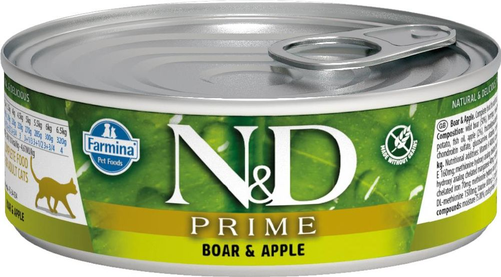 N&D Prime Boar & Apple 80g