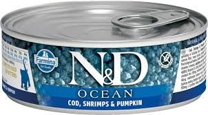 N&D Ocean Codfish & Shrimp & pumpkin