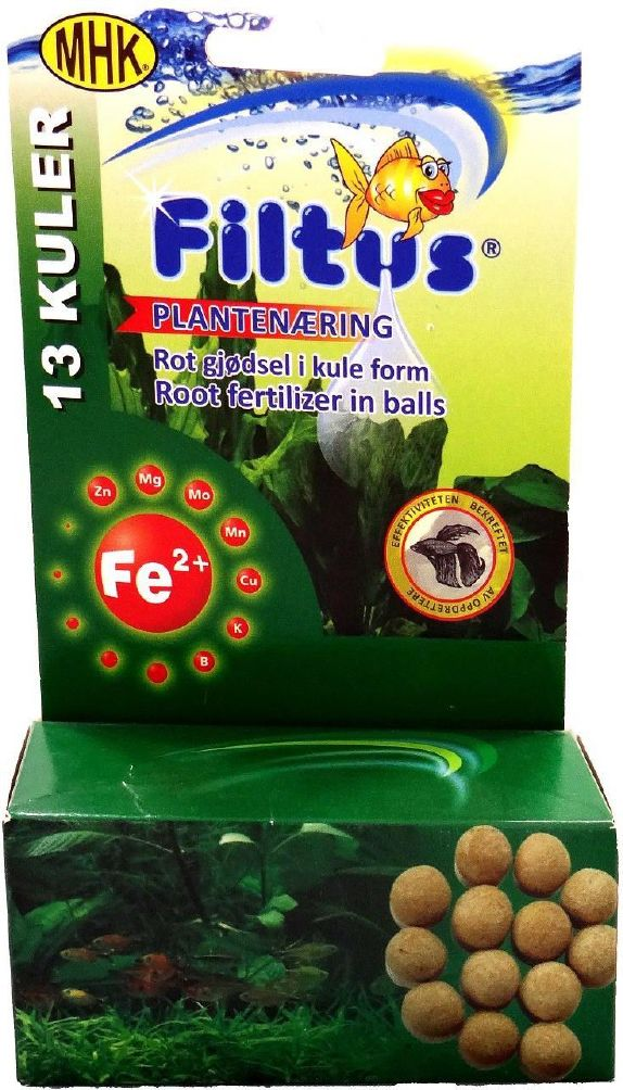 Filtus Plantenæring i kuler 13 kuler