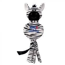 Kong Wubba no stuff zebra large