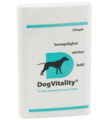 Dog Vitality for ledd 120kapsler
