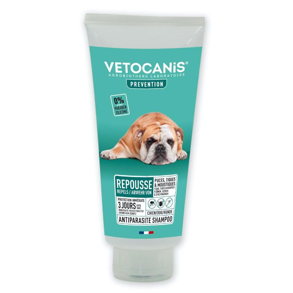 Anti-parasitt shampoo flåttmiddel Hund