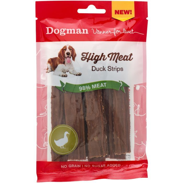 High meat tasty strips duck 70gr