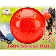 Jolly Soccer Ball Rød 20cm