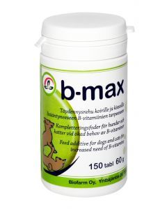 B-max b-vitamin 150stk tabletter