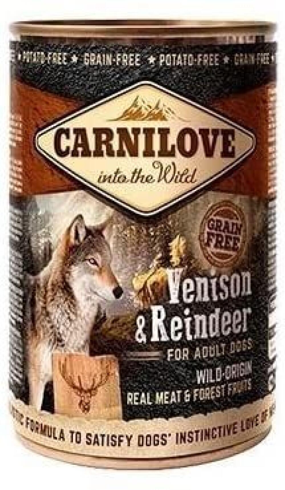 Carnilove Venison & reindeer 400gr