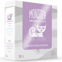Monster Kattesand Fresh Lavendel 10L