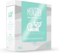 Monster Kattesand Long hair & Kitten 10L