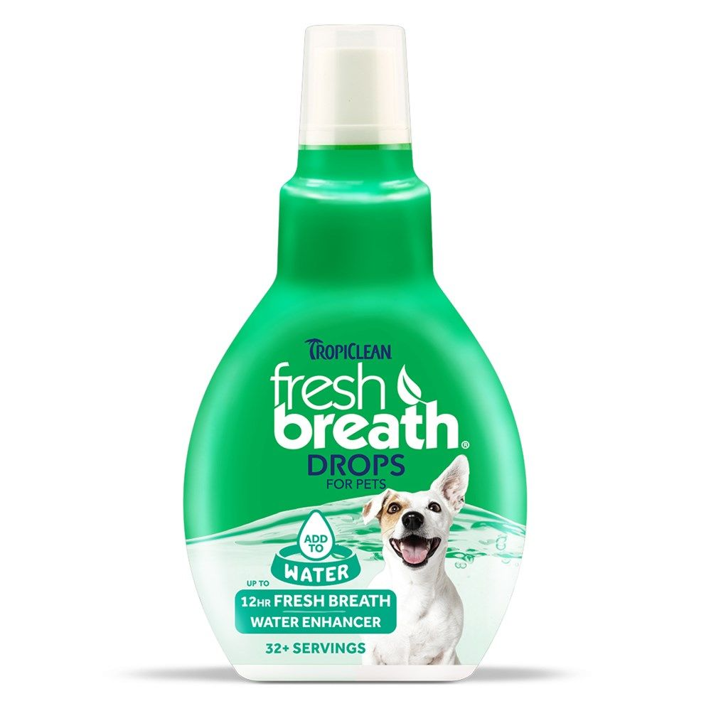 Tropiclean Fresh Breath Drops 65ml