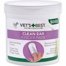 Vets Best Clean fingertut til øyne 50stk