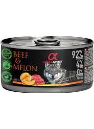 Alpha spirit Beef with melon 150gr