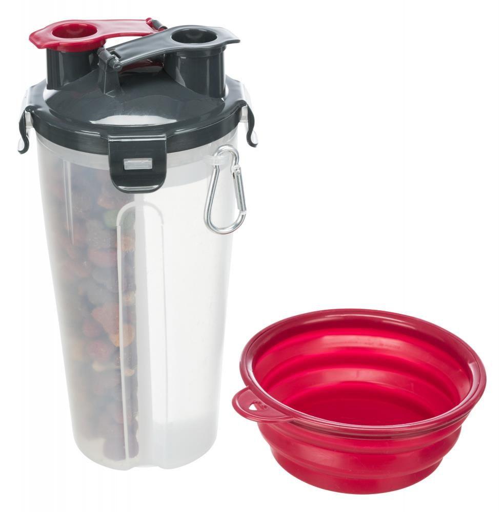 Reisesett Fôr og Vannbeholder Plastikk