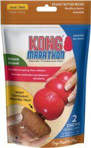 Kong marathon medium 2pk  peanutbutter