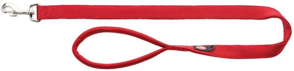 Koppel xs premium 180cm/10mm rød