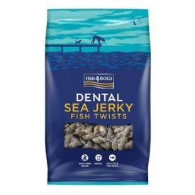 Fish4dogs Dental sea jerky fish twists