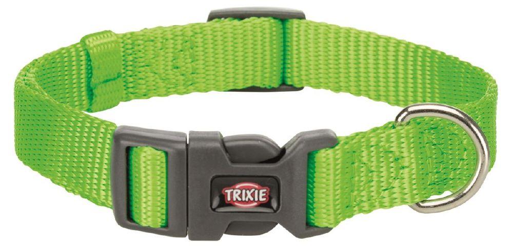 Halsbånd premium 25-40cm/15mm s lime