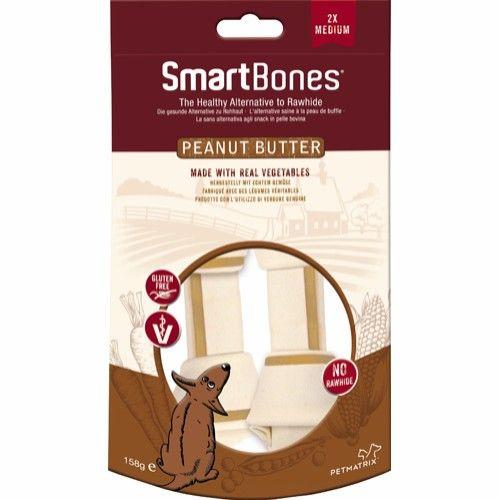 Smartbones m/peanøtt smør 158g