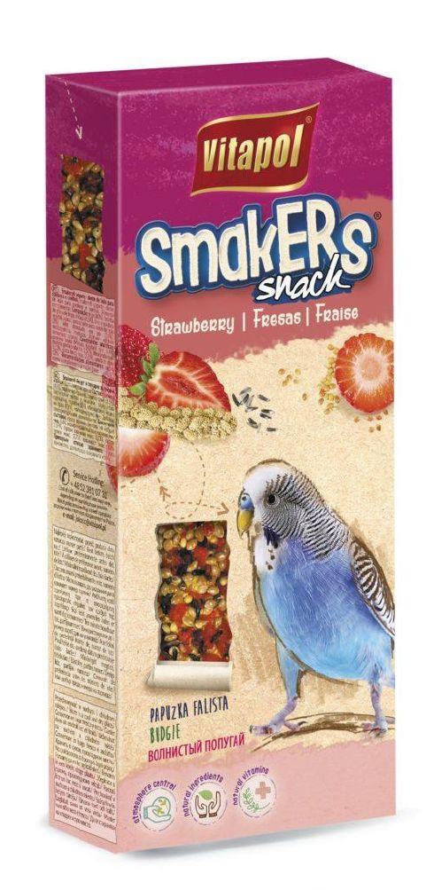 Vitapol Jordbær Smakers fugl 90gr