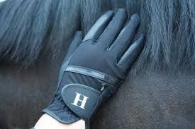 Hamilton soft grip glove black 7