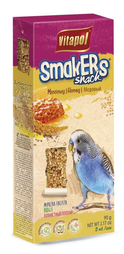 VP Smakers undulat honey 90g 2stk
