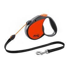 Flexi neon s cord oransje 5m