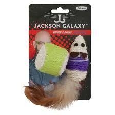 Jackson Galaxy Rope Mouse w/Ball