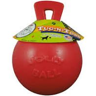 Jolly Pets Tug-N-Toss 20cm rød