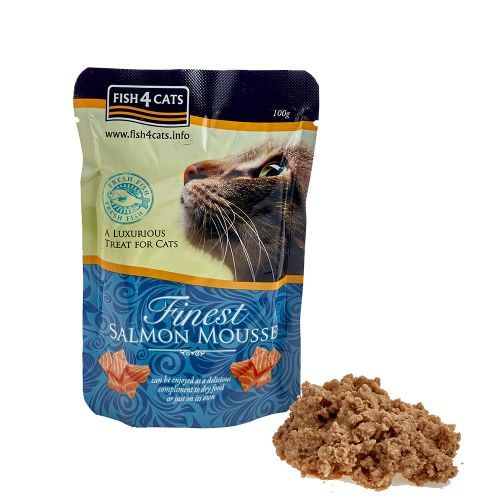 Fish4Cats Finest Salmon Mousse 100g