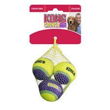 Kong Crunch Air balls small 3pk