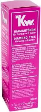 Kw diamantøye 100ml