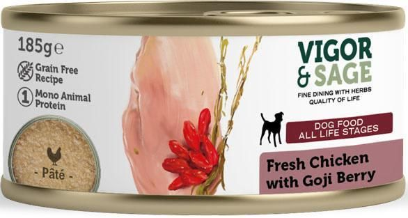 Våtfôr Goji Berry & Fresh Chicken 185g