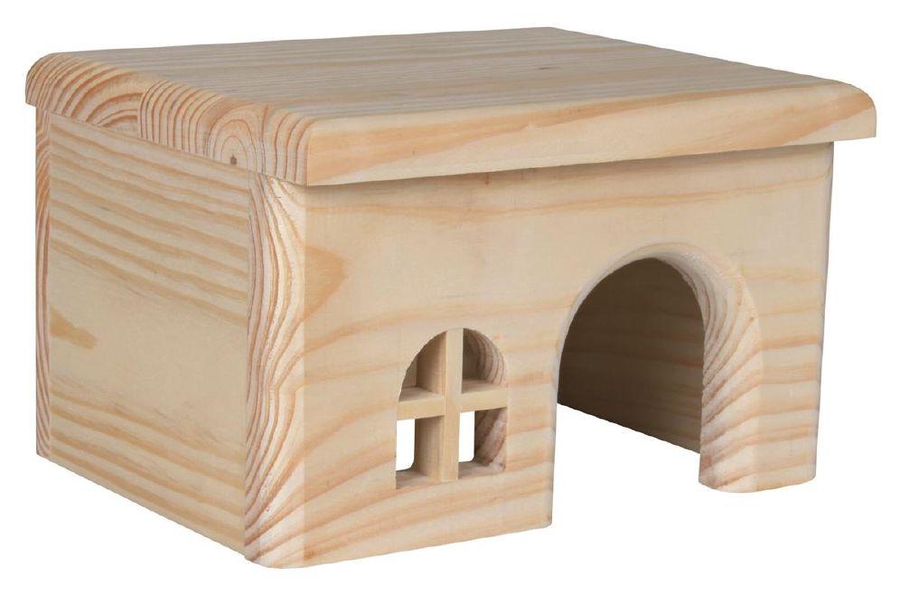 Hamsterhus i Tre 15×12×15 cm