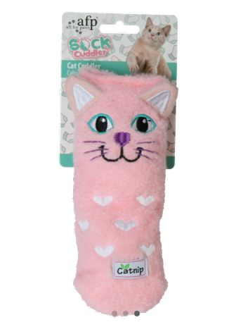 AFP Sock cuddler Katt