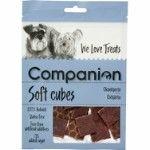 Companion Soft Beef Heart Cubes 80g